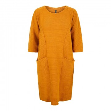Freequent | Dany Dress Spiced Yellow