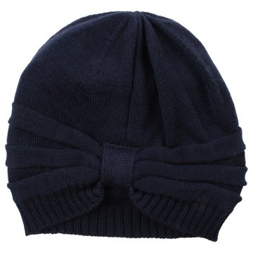 3586c610 Nordic Label | Knit Wool Hat m/sløyfe, Total Eclipse