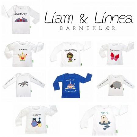 Liam & Linnea barneklær- Norsk design